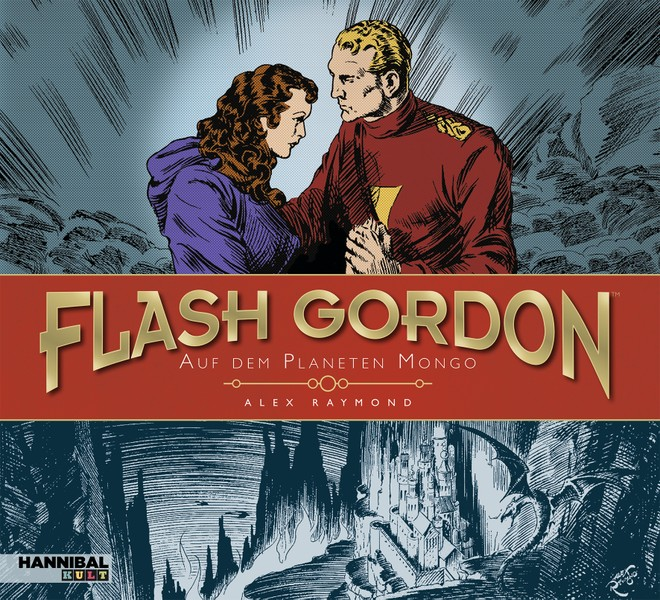 Flash Gordon in edlem Outfit