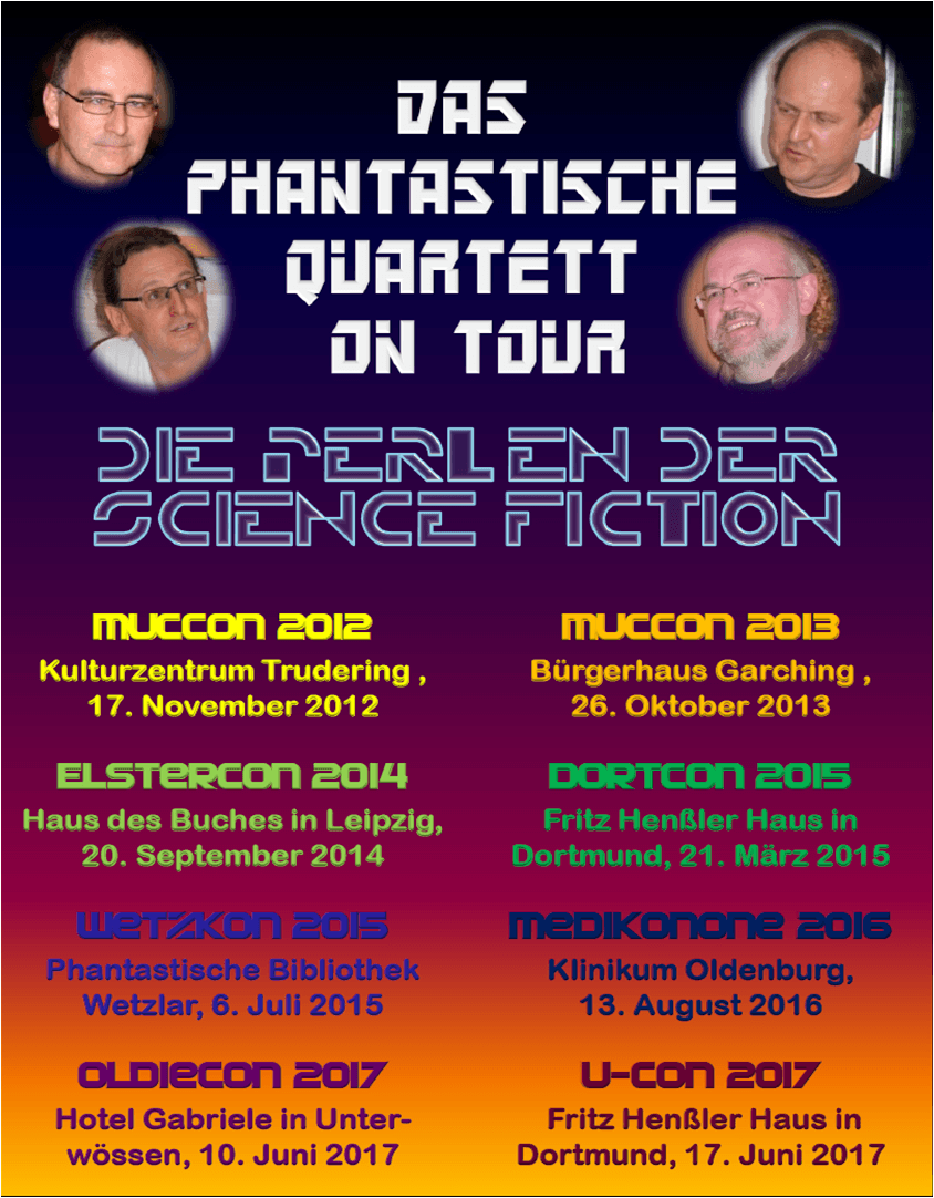 Das phantastische Quartett on tour 2017